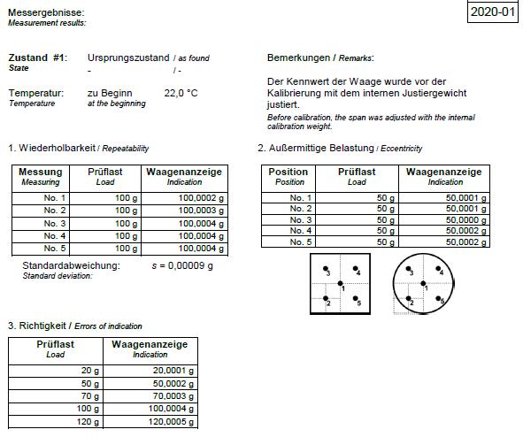 Calibration certificate kern sohn gmbh 5 metrological part yadclub Choice Image