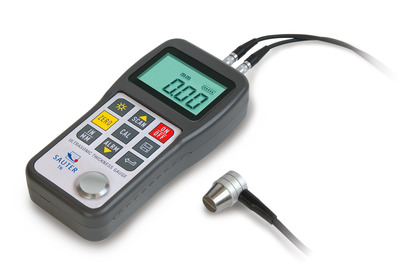 Factory calibration of material thickness meters